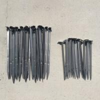 앙카핀30cm(100개 500개) 코아네트핀 야자매트핀 고정핀 앙카핀30cm, 100개 (TOP 1655564243)