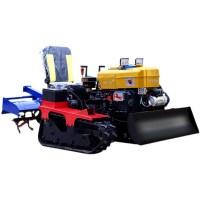농업용 농기계 관리기 소형 트렉터 경운기 로타리 그린 기계 미니 밭갈기 밭가는 40, 라이드 온 마이크로 경운기 (TOP 5245540642)