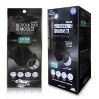 엠에치케어 끈조절가능한 KF94 블랙 황사마스크 25매 개별포장, 개별포장 25매 (TOP 2228945378)