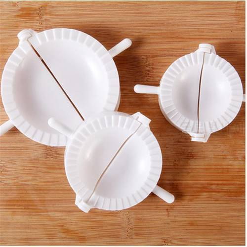 3pcs 금형 보도 라비 올리 반죽 과자 파이 만두 제조기 금형 도구 3 다른 크