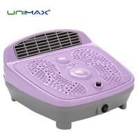 선풍기형 히터 전기스토브 가정용 사무실 업소용 난방기구 온열기 스탠드 벽걸이 난로 전기열풍기 풋히터, 유니맥스 발온풍기(UMH-17103F) (TOP 334554161)