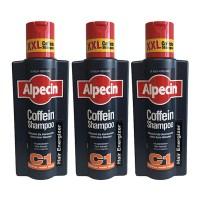 알페신 카페인 샴푸 C1, 375ml, 3개 (TOP 169411)