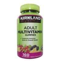 커클랜드 성인 멀티비타민 구미 160정 (구미) Kirkland Adult Multivitamin (160 Gummies), 1개 (TOP 243713865)