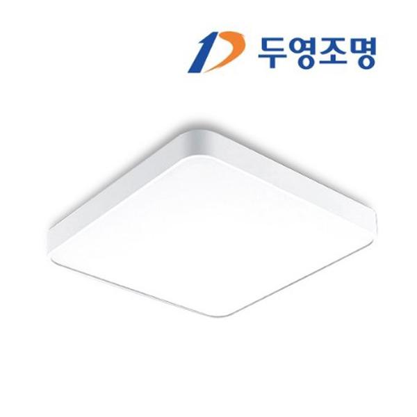 두영 LED 방등 거실등 주방등 전등 등기구 LED등 조명, 두영 LED 시스템 방등 50W 주광색(흰빛)