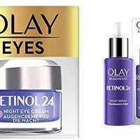 유럽 Olay Retinol 24 Crema de ojos de noche Crema 페이셜 레티놀 sin fragancia para una piel y 에센스 세럼 앰플 미스트, 세트 루티나 에스페피카 노체 레티놀24 (TOP 6028587095)