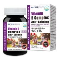 비타민B 컴플렉스 고용량 고함량 비타민B군 셀레늄 아연, 90정 X 1병 [3개월] (TOP 5353375252)