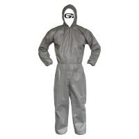 가드맨 G-1 원피스 작업복 보호복, 회색 (TOP 2632053)