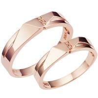 CS57010 윤슬 Pink Gold/14K커플링/평생A/S/이니셜공짜/ (POP 93519556)