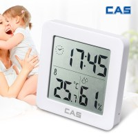 카스 디지털 벽탁상겸용 온습도시계 T025, 1개 (TOP 177217789)