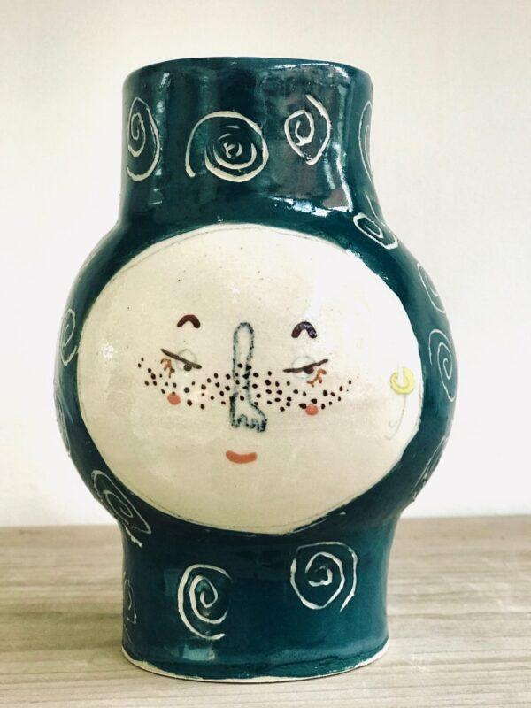 Nicky Darnborough Kindface Vase 2