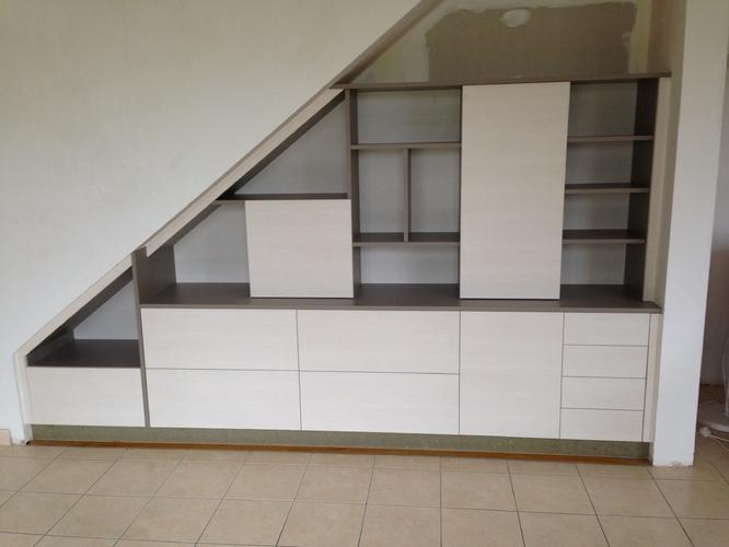 meuble blanc cuisine