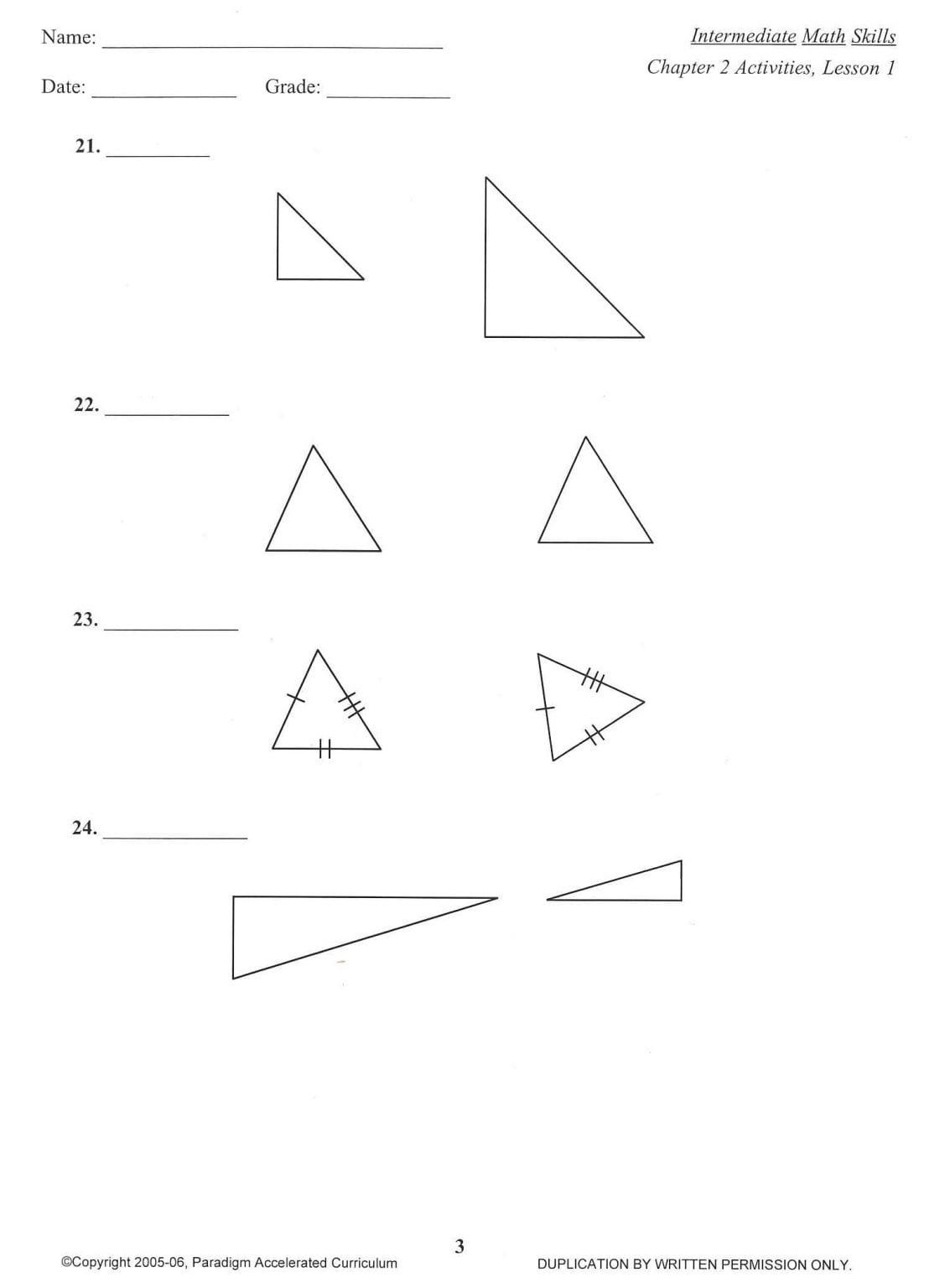 Sale On Intermediate Math Skills Chapter 2 Activities
