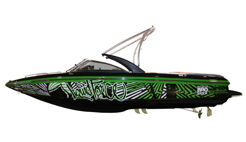 Design Your Own Boat Wrap Online
