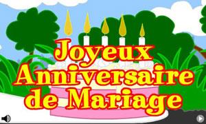 cartes anniversaire mariage gratuites