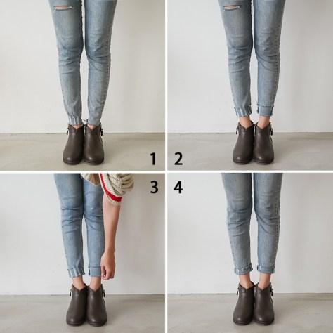 秋靴 秋靴穿搭 靴子 寬口靴 D+AF