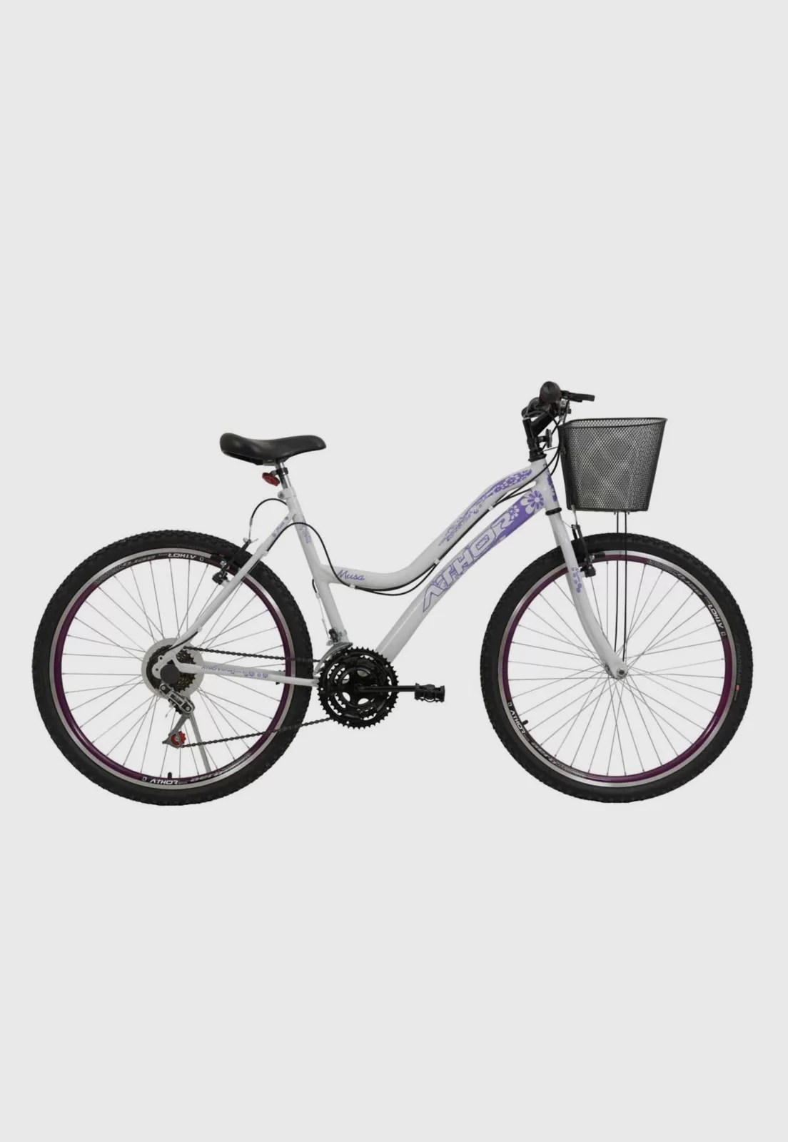 Bicicleta Athor Bike Musa Aro 26 Rígida 18 Marchas