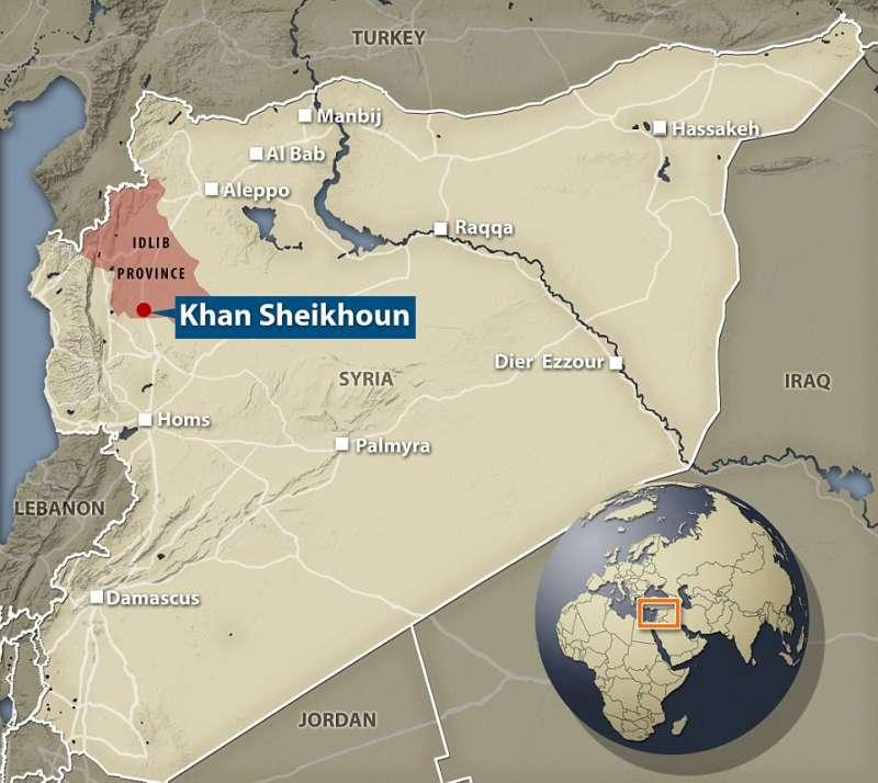 la provincia di idlib in siria