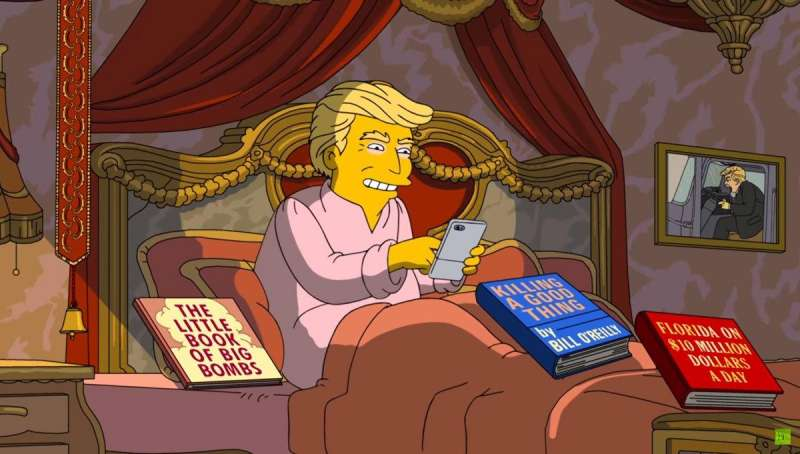 TRUMP NEI SIMPSONS