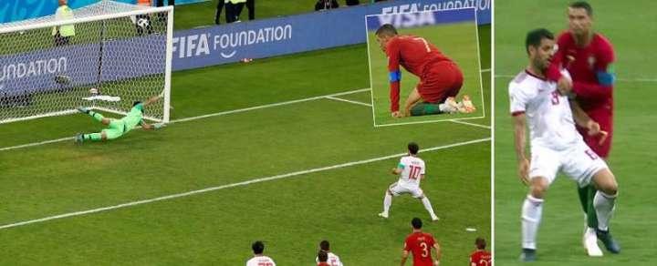 Ronaldo contro l'Iran | Numerosette Magazine
