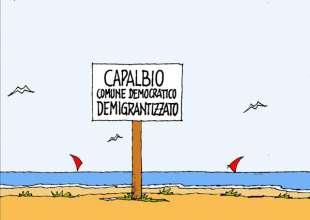 CAPALBIO E I MIGRANTI