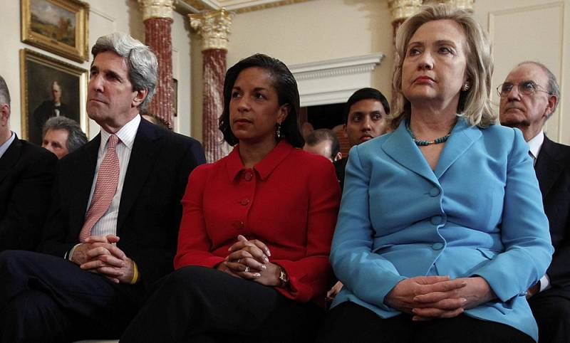 john kerry susan rice hillary clinton