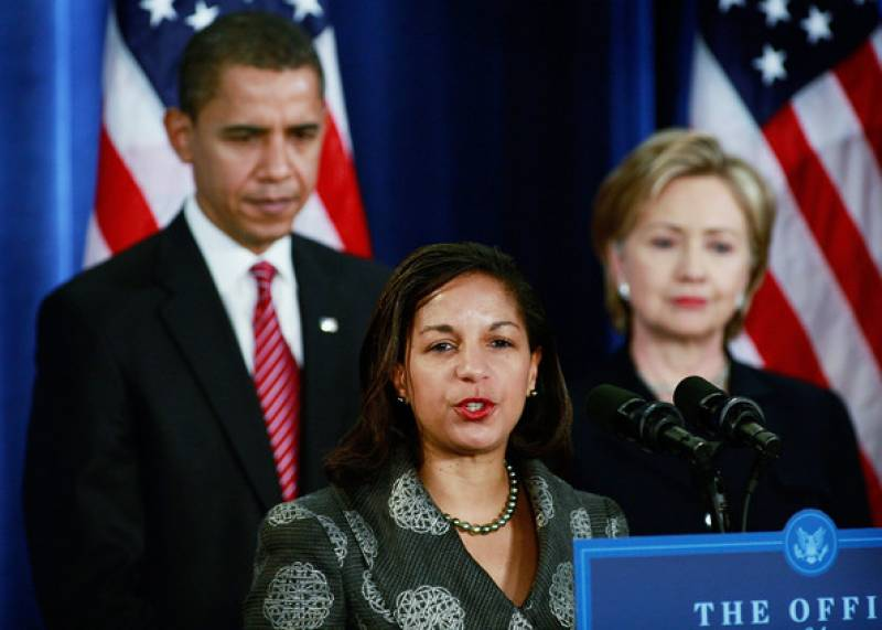 susan rice obama hillary clinton