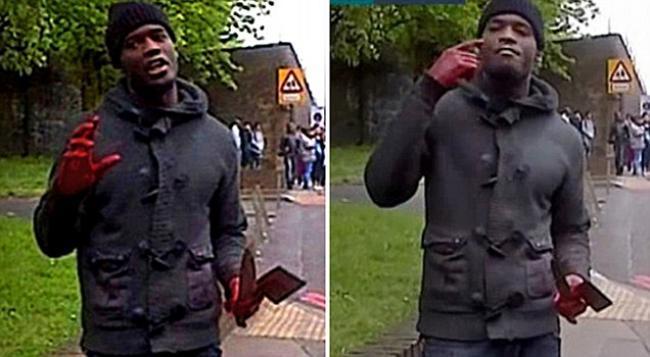 Outro ataque com arma branca na Inglaterra - Policial sofre ataque violento com machete em Londres 22