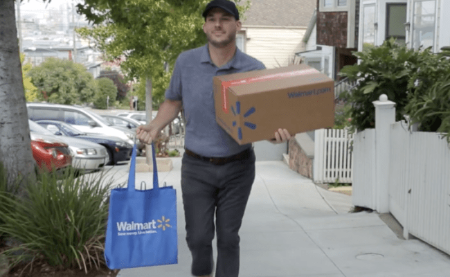 Walmart Is Now Offering Free One Day Delivery In Order To