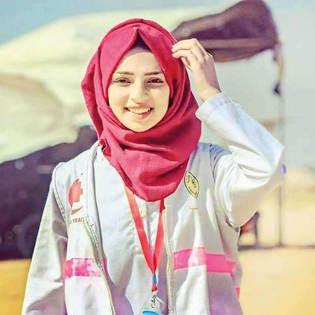 Razan al-Najjar Angel of Mercy