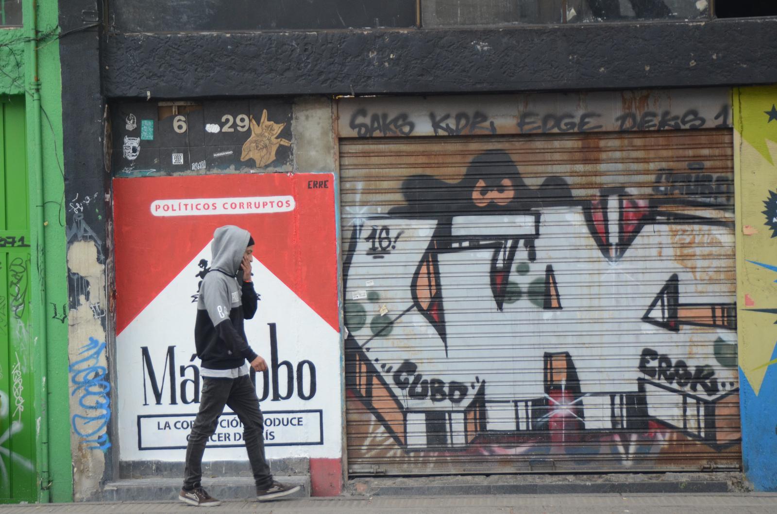 Guerra contra las drogas Graffiti