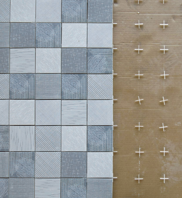 Collection of tiles Tratti by Inga Sempe for Mutina  David Report