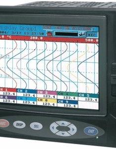 Fuji electric phl   yv paperless chart recorder channel basic also rh davis
