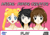 anime avatar creator play