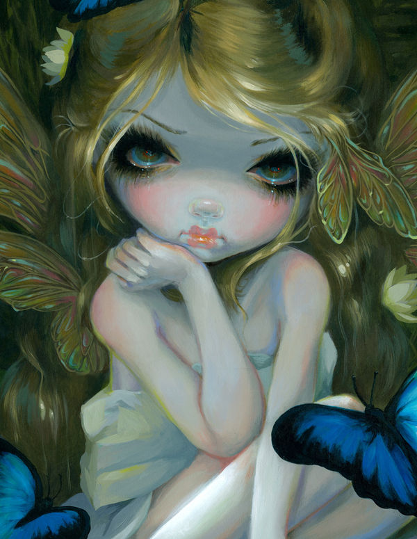Butterfly Lily By Jasmine Becket Griffith DecalGirl