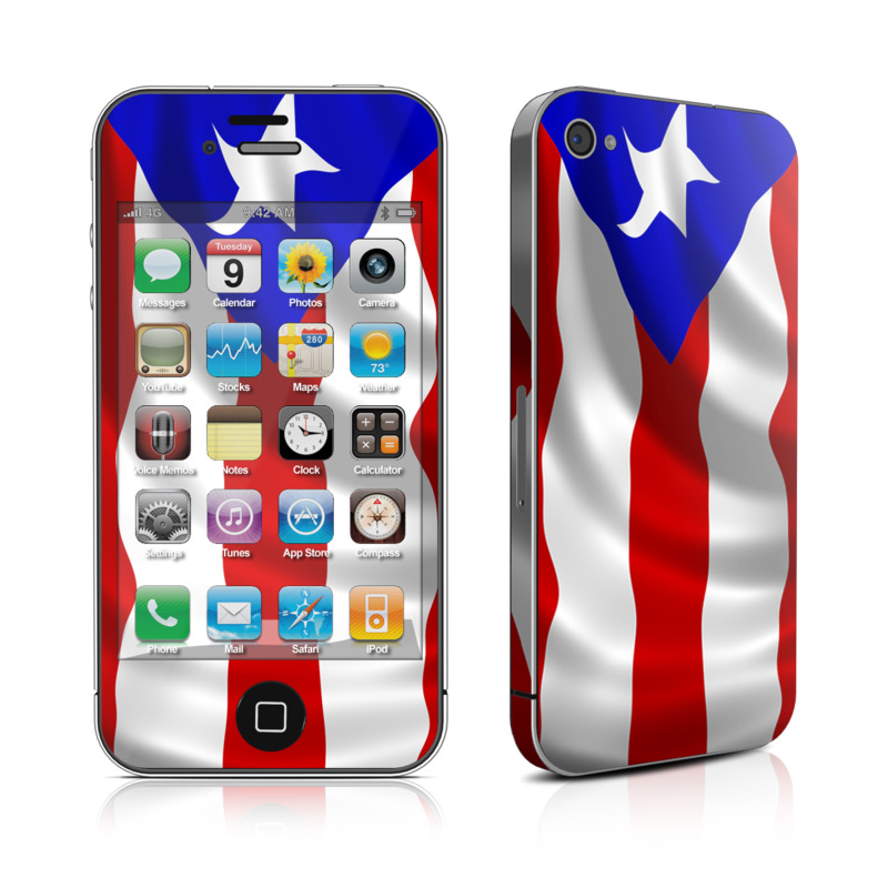 Vape Wallpaper Girl Puerto Rican Flag By Flags Decalgirl