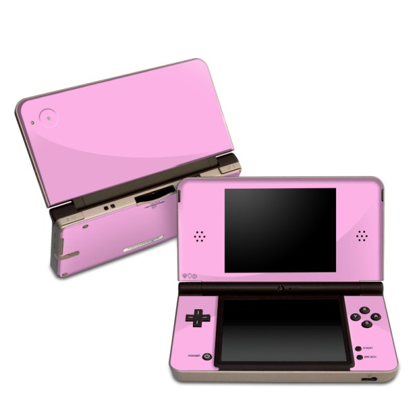 Dsi Xl Skin - Solid State Pink Colors Decalgirl