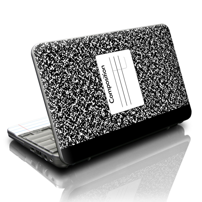 HP Mini Skin  Composition Notebook by Retro  DecalGirl