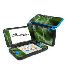 Nintendo 2ds Xl Skin - Apocalypse Green Gaming Decalgirl