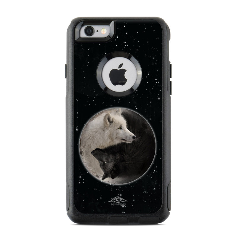 OtterBox Commuter iPhone 6 Case Skin  Wolf Zen by Michael