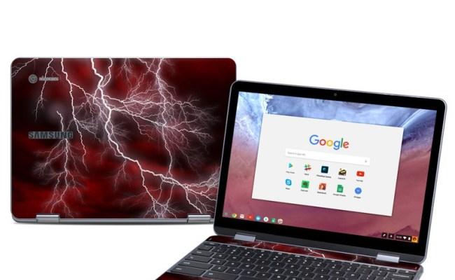 Samsung Chromebook Plus 2018 Skin Apocalypse Red By
