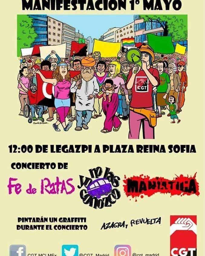 manifestacion mayo madrid