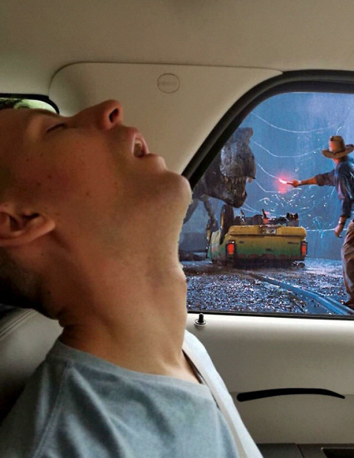 Funny Sleeping Pics : funny, sleeping, Woman, Internet, Photoshop, Sleeping, Boyfriend, Misses, Trip,, Result, Hilarious, DeMilked