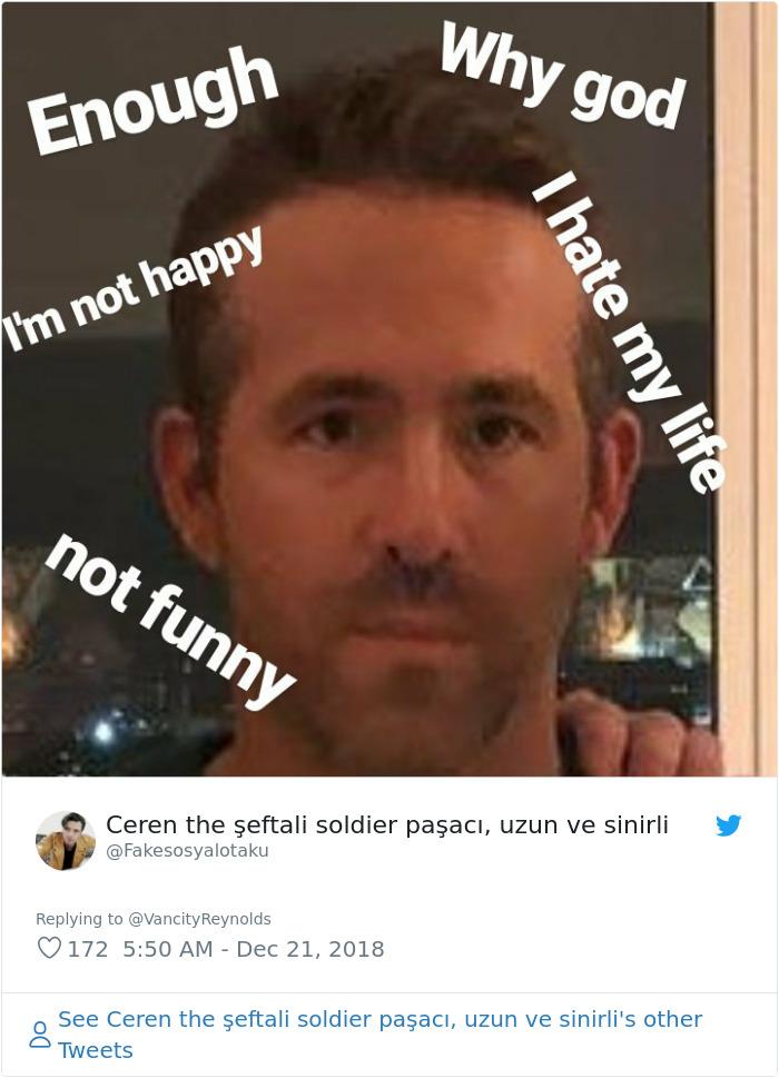 Ryan Reynolds But Why Meme : reynolds, People, Laughing, Reynolds, Pranked, Jackman, Gyllenhaal, DeMilked