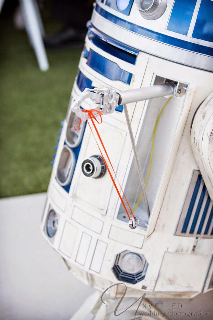 5df743d41c95f star wars wedding cory carrie shields 12 5df202d43d0af  700 - Casal teve um casamento com o tema Star Wars