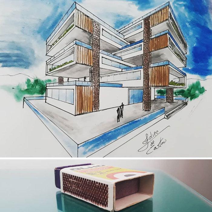 604f15291af12 What if ordinary objects became incredible architectures 113 Pics 6049dc16ba860  700 - 20 esboços de projetos de Arquitetura inspirados em objetos