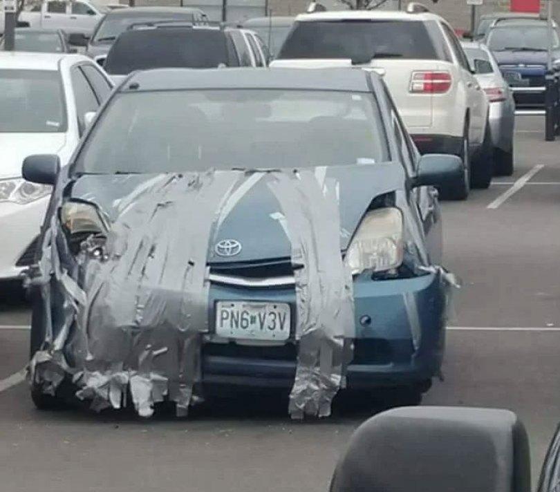 """610a3ad9b4665 bad drivers funny pics 141 60feb6dbc48b0  700 - Fotos revelam como muitos motoristas são """"vida loka"""" ou simplesmente sem noção"""