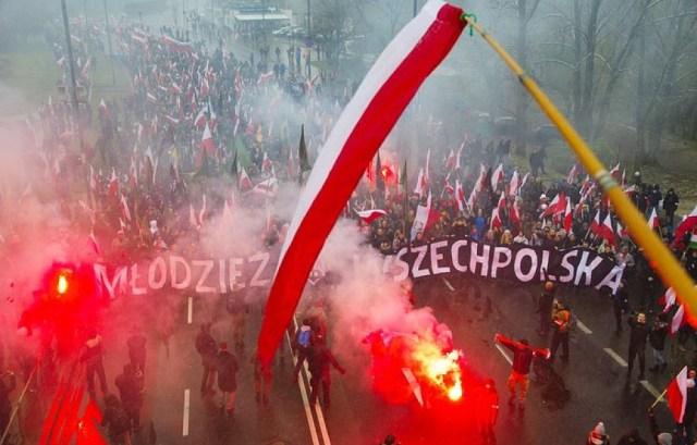 Parlament Europejski w rezolucji wzywa polski rząd, by potępił Marsz Niepodległości