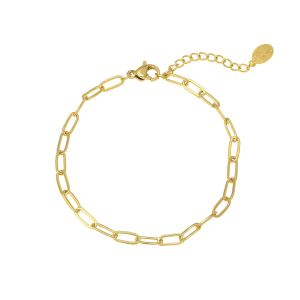 Armband Chained Up Goud