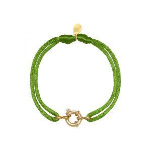Armband Satin Wheel Groen