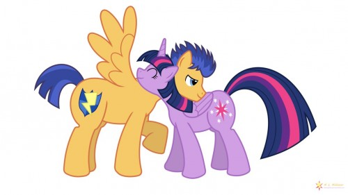 Pony Hugs by flashlighthouse